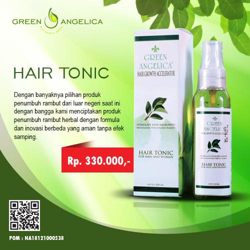 Obat Penghilang Uban Alami Untuk Pria Dan Wanita Indonesia: Green Angelica Hair Tonic Accelerator