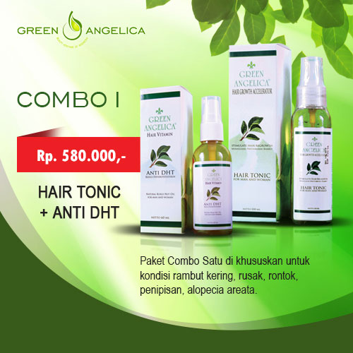 Green Angelica Paket Combo 1